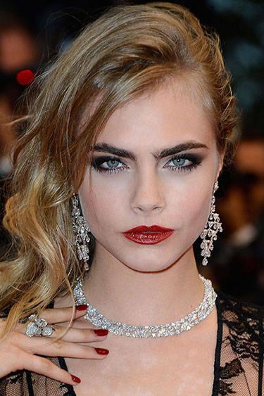 eyebrows-Cara Delevingne harpersbazaar.com