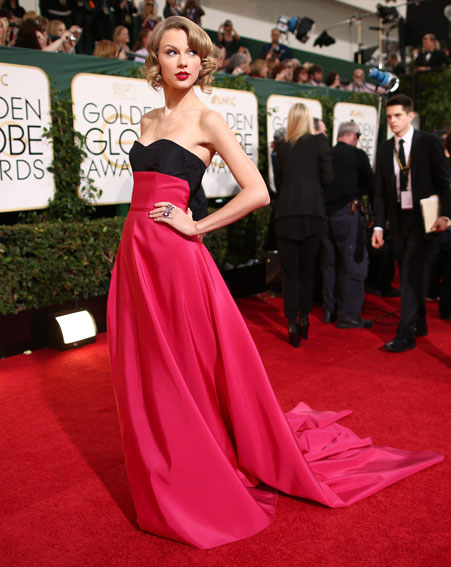 taylor swift carolina herrera