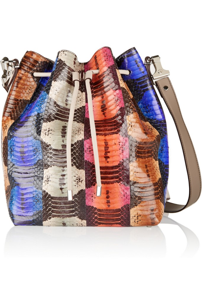 Proenza schouler elaphe bucket bag