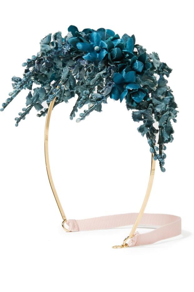 Gucci floral satin netaporter