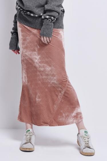 frontrowshop-velvet-skirt
